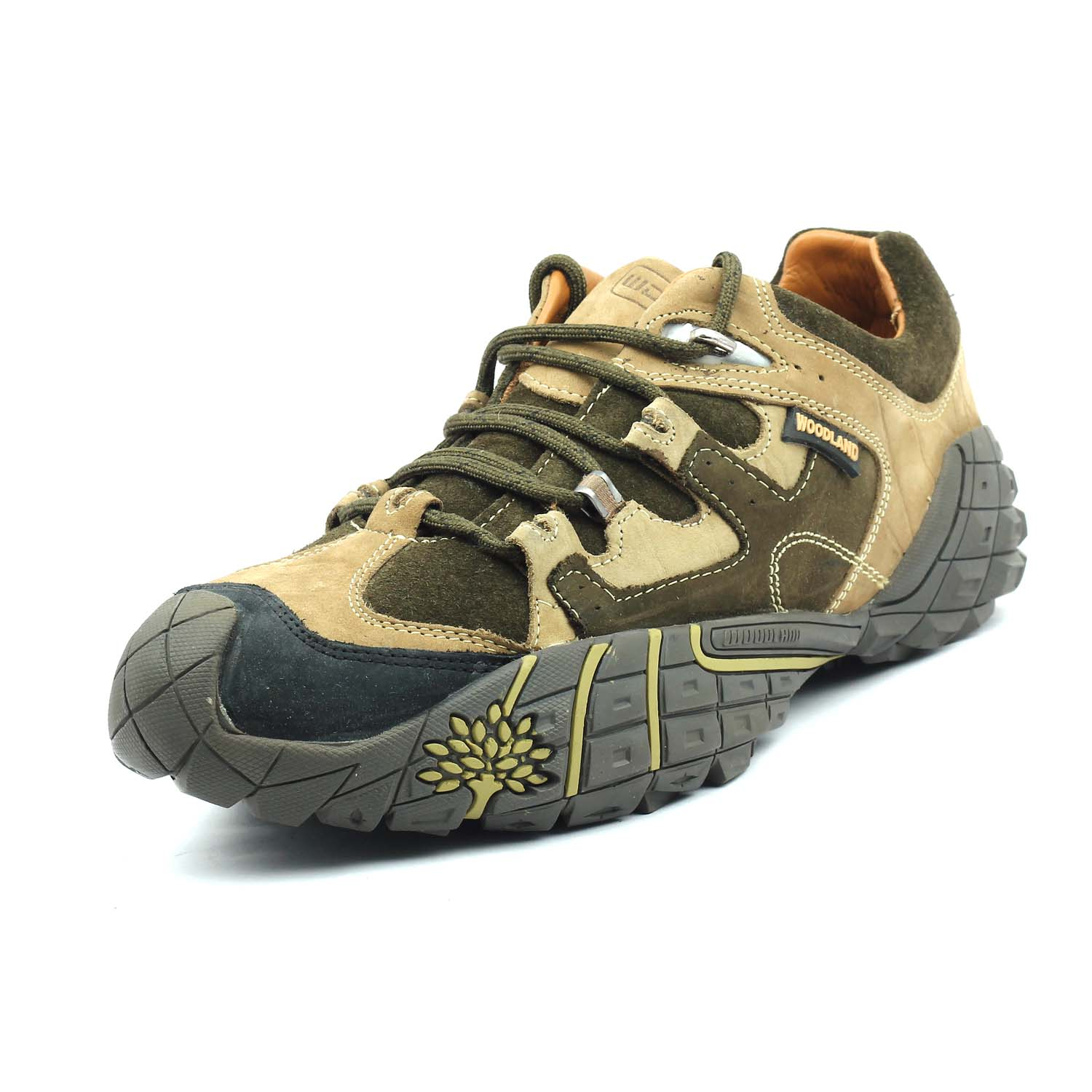 Leather Sneakers(GC926110 OLIVE) - Shoe Hut